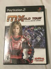 MX World Tour Featuring Jamie Little For PlayStation 2 PS2 Extreme Sports CIB