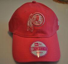 New Era Hat Cap Washington Redskins Ladies Women Adjustable OSFM NFL  Football 34a5db5eb