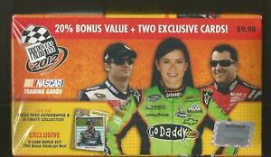 Scarce 2012 Press Pass NASCAR Racing Blaster Box - 2 Exclusive Bonus Set Cards