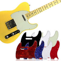 3 Ply Tele Style Guitar Pick Guard Scratch Plate Fits Telecaster Guitar New