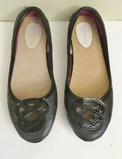 Sperry Top Sider Women's Lakeside Ballet Flat/Driving Moccasins, Black, Size 6M