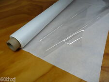 "SUPER CLEAR PLASTIC / VINYL SHEETING FOR WINDOWS 54""x 40yds x 10 MIL"