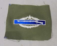 US Army Military Qualification Combat Infantryman 2nd Award Cloth Badge