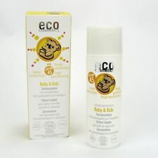 (25,50/100ml) Eco Cosmetics Baby & Kids Sonnencreme LSF 45 Granat Sanddorn 50 ml