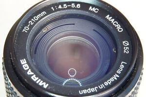 70-210mm ZOOM LENS KIT for OLYMPUS & PANASONIC Micro 4/3 cameras   ...Mirage