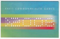 2006 AUSTRALIA STAMP PACK 'MELBOURNE COMMONWEALTH GAMES' STAMPS + MINI SHEET MNH
