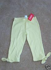 NWT GYMBOREE Love is in the Air Green Bow Capris~ 5!