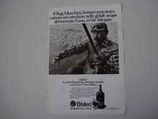 advertising Pubblicità 1974 FERRO CHINA BISLERI