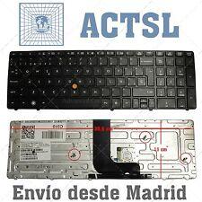 Teclado Español para HP EliteBook 8570w Black (With Point Stick)