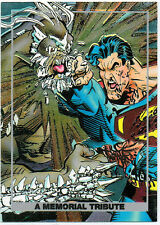 SUPERMAN: THE DEATH OF DOOMSDAY FOIL CARD S2