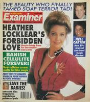 National Examiner Oct 26 1993 Heather Locklear Forbidden Love - Nell Carter