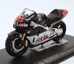 Ixo Models 1/24 Scale IB01 - Honda NSR500 Motorcycle - #65 Loris Capirossi 2002