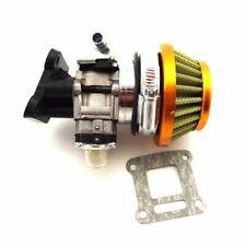 Carburetor Kit Air Filter Stack For 2 Stroke 47 49cc Mini ATV Dirt Pocket Bike