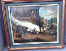 Gorgeous, European Painting - XVIII Century - Oil on canvas - Animals