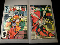 Peter Parker The Spectacular Spider-Man #104 and #105 (Marvel, 1995)
