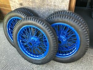 TUDOR WHEELS LTD Classic Vintage Wheel Restoration Voisin C5 C25 Aero Engined
