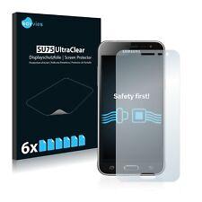 6x Displayschutzfolie Samsung Galaxy J3 Duos (2016) Schutzfolie Klar Folie