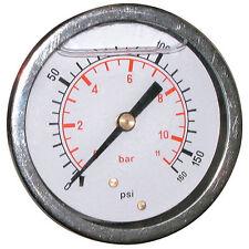 Pressure Gauge 63mm G1/4bspp 0 - 40Bar/600psi Rear