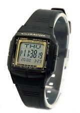 Casio Classic Watch * DB36-9AV Databank Black w/Gold Ivanandsophia COD PayPal