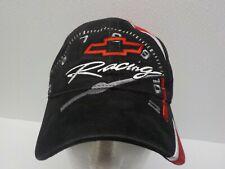 Chevrolet Racing Nascar Baseball Cap Hat Black Red Osfa H3 Speedometer