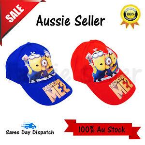 Despicable Me Minions boys Cap / Hat Brand new cotton