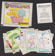 Vintage Sticker Album Sticker 1989 /'Puffalumps/' Panini Sticker Number 177