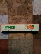 Ho scale Tyco Popsicle Ice Cream 60' billboard advertising reefer car