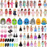 """Doll Clothes Pajames Shoes for 18"""" American Girl Our Generation My Life Dolls"""