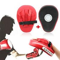 PU Leder Boxing Focus Pads Hand Target Jabs Handschuhe Boxsack Target Mitt