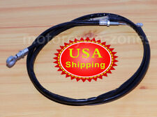 """65"""" Blackout Clutch Cable Vinyl Coat Outer Casings For Harley Sportster 1200 883"""