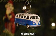 Custom Volkswagen Van T1 T2 Christmas Ornament VW Samba Bus 1/64th Camper Kombi