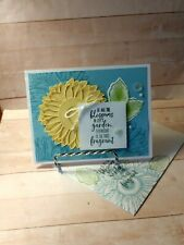 Stampin up- FRAGRANT FRIENDSHIP- Handcrafted-  Card Kit-Set of 4-