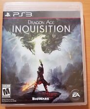 Dragon Age: Inquisition (Sony PlayStation 3, 2014) Missing Manual PS3