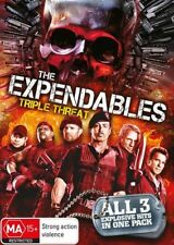The Expendables / Expendables 2 (DVD, 2014, 3-Disc Set)