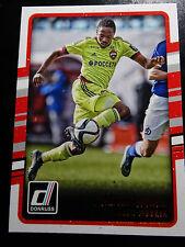 2016-17 Donruss Soccer #64 Ahmed Musa CSKA Moskva Card
