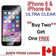 CLEAR TEMPERED GLASS SCREEN PROTECTOR FOR APPLE iPhone 6 6s * BUY 2 GET 1 FREE*