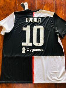 2019/20 adidas Juventus #10 Dybala Home Soccer Jersey DW5455 Size 3XL