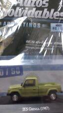 IES GRINGA (1987) 80/90's Unforgettable Cars 1:43 Diecast SALVAT # 34 ARGENTINA