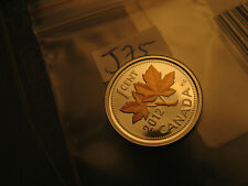 Canada 2012 Rose Gold Plated  Silver Small Cent Extremely Rare Gem IDJ75.