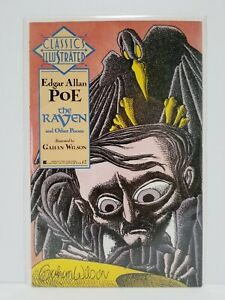 Classics Illustrated #1 The Raven - February 1990 - actual pictures - NM/MN