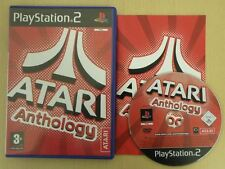 Sony Playstation 2 Game * ATARI ANTHOLOGY * Complete PS2 Retro Rare PS21706