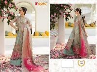 Pakistani suit salwar kameez Indian women designer anarkali sharara shalwar new