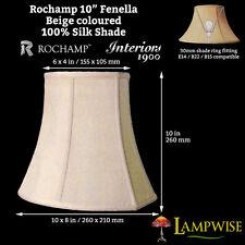 Interiors 1900 Rochamp Fenella 10in Beige Silk Shade