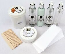 1100gr Sugaring Hair Removal Kit with Lotions. 100% Natural Hair removal, EASY