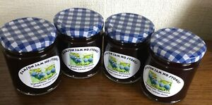 4 Jars of Homemade Damson Jam with no stones - 8 oz- £8