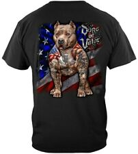 Dogs Of Valor Pitbull T Shirt American Flag This We'll Defend