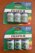 FujiFilm Advanced Photo System 400 Speed 24mm 6 rolls packaged Expired New