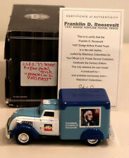 DTE MATCHBOX COLLECTIBLES 92549 FRANKLIN D. ROOSEVELT 1937 DODGE AIRFLOW USPS