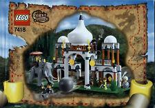 Lego Adventurers # 7418 Scorpion Palace - Bauanleitung (keine Steine!)