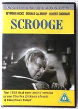 Scrooge (1935) DVD Seymour Hicks Donald Calthrop - Christmas Cine Clásico -